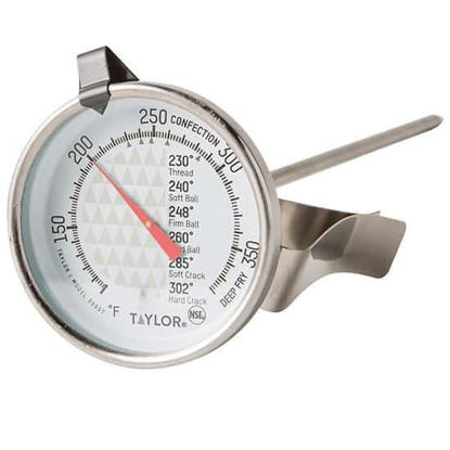 """Taylor 3505 TruTemp Series 2"""" Dial Candy/Deep Fry Thermometer"""
