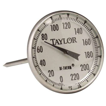 Taylor 61054J Commercial Series Instant-Read Dial Meat Thermometer