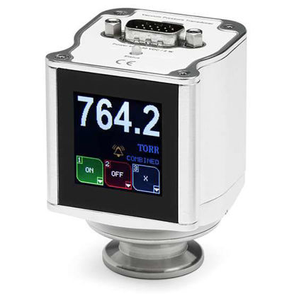 902B Piezo Gauge, VCR8F Flange, RS232 / Analogue comms, 0-10V Linear out, 9 Pin with 1x relay, IP40 with display