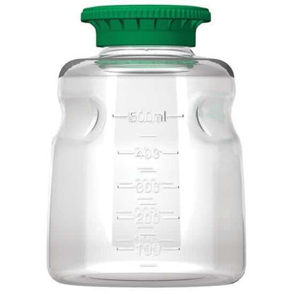 Cole-Parmer Media Bottle, PETG, 500 mL, Sterile; 24/Cs