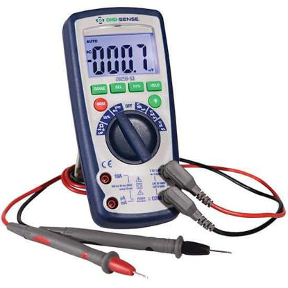 Digi-Sense Industrial Digital Multimeter, IP67, with NIST-Traceable Calibration