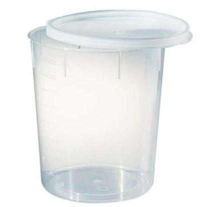 Corning Gosselin PC400-03 Sterile Snap-Cap Container, PP, 400 mL, Natural; 185/Cs