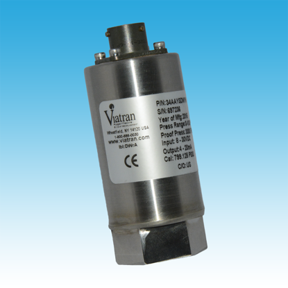 "Model: 510BPSNK - Hammer Union Pressure Transmitter, 0 - 15,000 PSIS, 4-20 mA output, Amphenol 6-pin electrical connector, 2"" 1502 wing connection, Externally powered shunt calibration circuit, Eight gage sensor design, ATEX Intrinsically S"