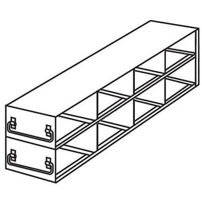 "Argos Technologies PolarSafe® RD42375A Upright Freezer Drawer Rack for Standard 3.75"" High Boxes, 4 x 2 Array"