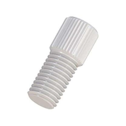 "Cole-Parmer VapLock Port Plug, 5/16""-24 UNF(M), PTFE; 1/ea"