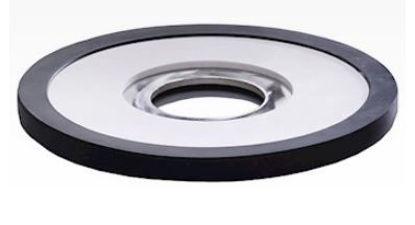 "Labconco FreeZone 7207400 Stainless Steel Lid; 14.0"" dia"