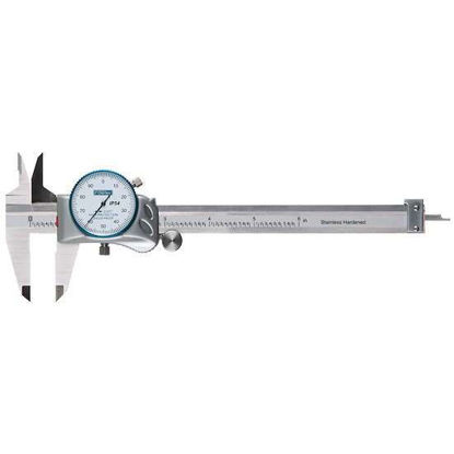 Fowler 52-008-051-0 Dial Cal Plus Dial Calipers, Black Face; 0 to 6 inch