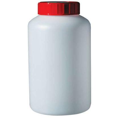 Corning Gosselin Round Bottle, 1000 mL, HDPE, 58 mm red screw cap, sterile
