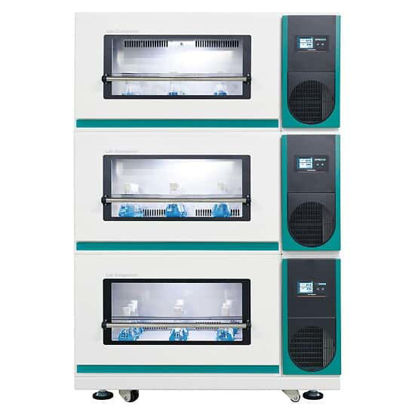 Lab Companion ISS-7100 Stackable Incubated Shaker, 7 cu ft, 230V, 50H