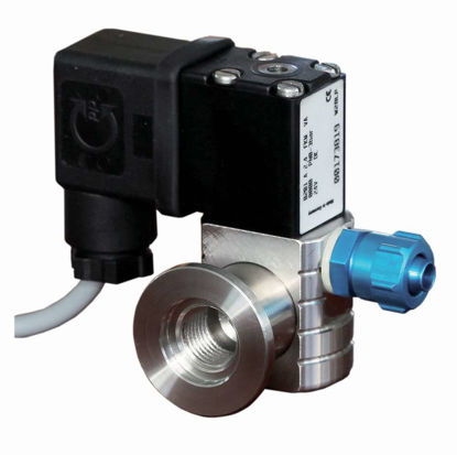 """Air admittance valve VB M, KF DN 16 / G1/4, with hose nipple G1/4"""" - 6/10 mm 24V= with cable"""