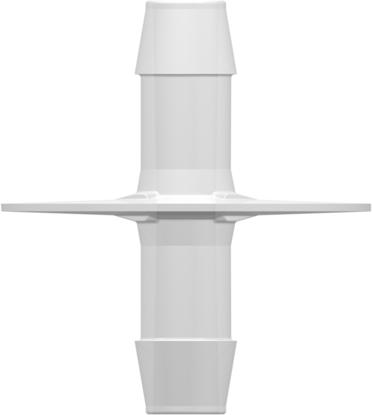 "Dip Tube (Opposable Barbs) with two 600 Series Barbs 1/2""; (12.7 mm) Tubing ID Value Pharmaâ""¢ USP Class VI Animal-free Polyethylene Granuflex"
