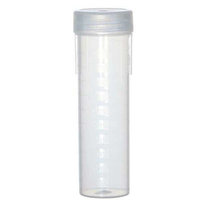Environmental Express UC482-NL Ultimate Cup, Digestion Cups with Natural Linerless Caps, 50 mL, Rack Lok; 500/Pk