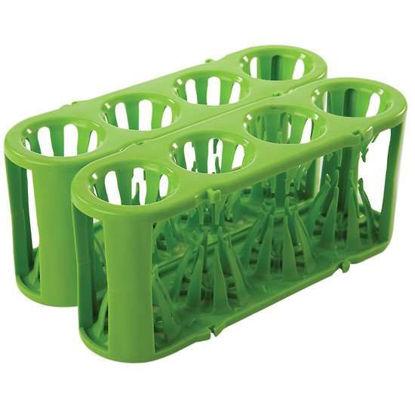 Heathrow Scientific Adapt-A-Rack® Modular Tube Rack System, green, 7 to 50 mL tubes, 2/pk