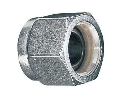 "Parker Hannifin 6 BZ-SS-C Compression Fitting Ferrule Nut, 316SS, 3/8"" OD; 1/EA"