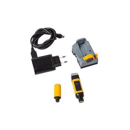 MultiLab Wireless module kit. Includes WA-S wireless sensor module, WA-M wireless meter module, one charger for WA-S modules, and USB power supply