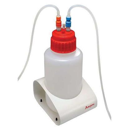 Argos Technologies M-Vac Jr. Vacuum Bottle, Polypropylene, 2 L with Standard 53B Cap
