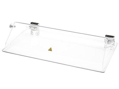 Lift-up bath cover for PURA 22 transparent