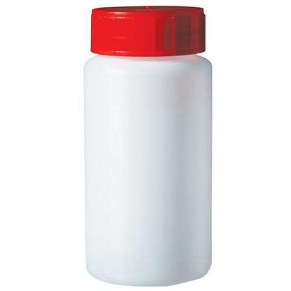 Corning Gosselin Round Bottle, 150 mL, HDPE, 37 mm red screw cap, sterile; 140/cs