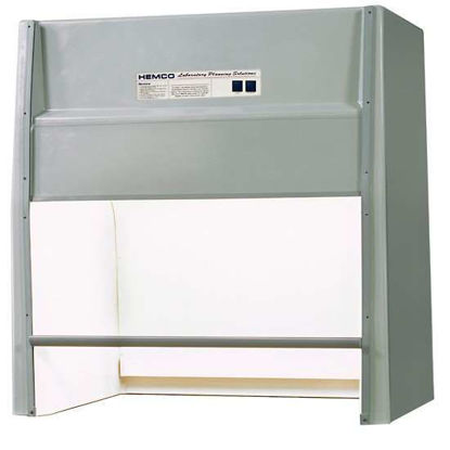 "HEMCO Universal Fume Hood w/ Vapor Proof Light, 30"" W; 230 VAC"