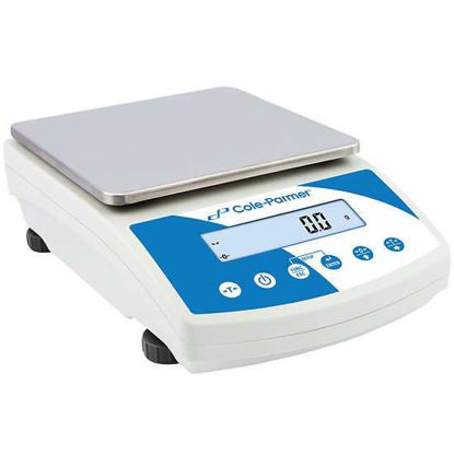 Symmetry PBH-20001 High Capacity Portable Toploading Balance, 20000g x 0.1g, External Calibration