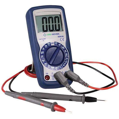 Digi-Sense Compact Digital Multimeter, Manual Ranging with NIST-Traceable Calibration