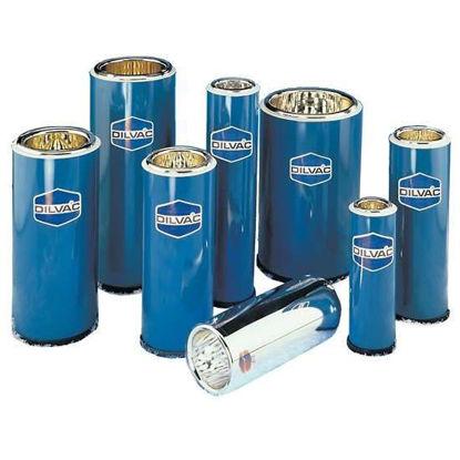 Dilvac Blue Enameled Steel and Glass Dewar Flask, 1.5 L
