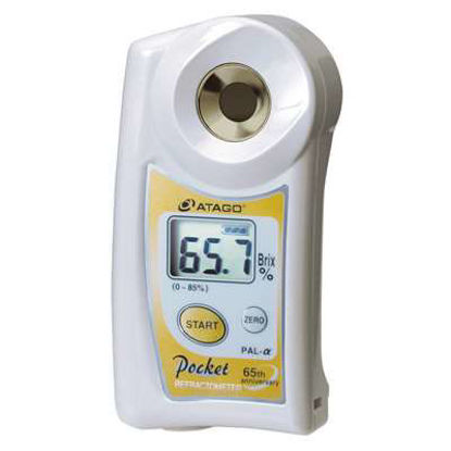 PAL-alpha Digital Hand-held Refractometer, Brix 0.0 to 85.0%