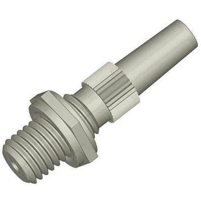 """Diba Omnifit® Port Adapter, 1/4""""-28 UNF(M) to male Luer slip tip; 1/ea"""