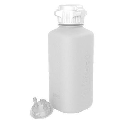 Cole-Parmer Heavy-Duty Vacuum Bottle, 53B Cap, HDPE; 1 L