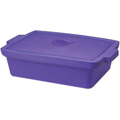 """Corning EVA-Foam Ice Pan with Lid, Purple with Lid, 9 L; 1/Each"""""""