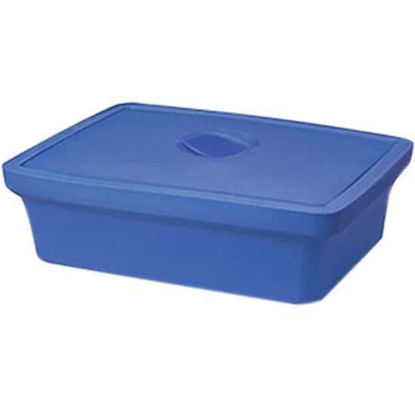 """Corning EVA-Foam Ice Pan with Lid, Blue with Lid, 9 L; 1/Each"""""""