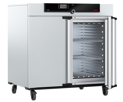 Universal oven UF450, forced air circulation, SingleDISPLAY, 449L, 300 °C, with 2 grids