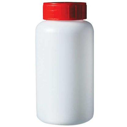 Corning Gosselin Round Bottle, 250 mL, HDPE, 37 mm red screw cap, sterile; 68/cs