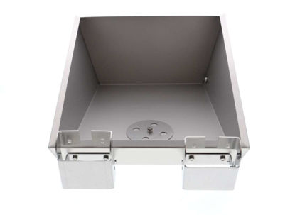 Lift-up bath cover, stainless steel for TW8
