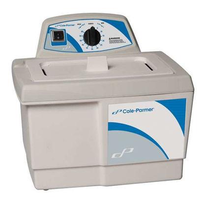 Cole-Parmer Ultrasonic Cleaner, Heater/Mechanical Timer; 0.5 gal, 115V