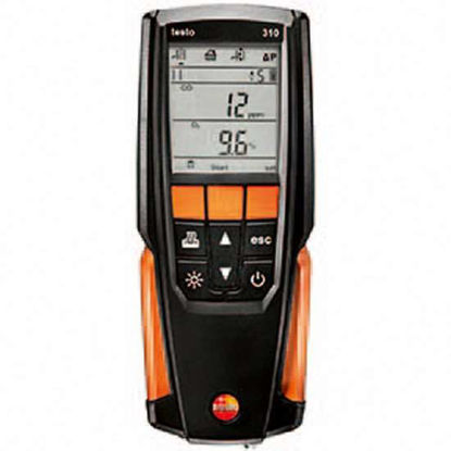 Testo Model 310 Combustion Analyzer Kit with infrared printer and two rolls of paper
