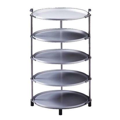"Labconco FreeZone 7317200 Five-shelf Sample Stand; 17-1/2"" x 10 3/8"""
