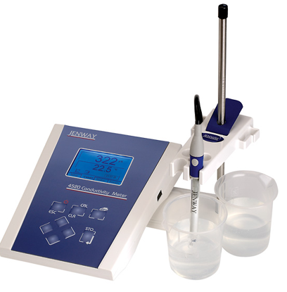 Jenway 4520 Conductivity Meter with Cell and GLP; 230 VAC/UK