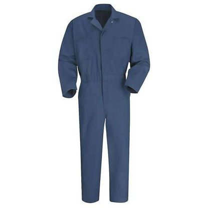 COVERALLS NAVY LARGE