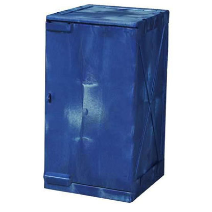 CABINET SAFETY PE 12 GAL BLUE