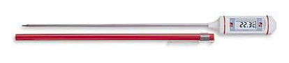 "Digi-Sense Calibrated High-Accuracy Long-Stem Digital Thermometer, 11.5""L"