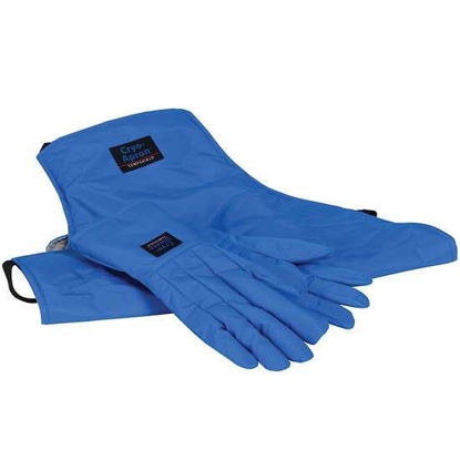 "Cole-Parmer Cryogenic Safety Kit; Medium Gloves and 48"" Long Apron"