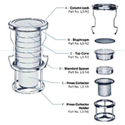 Top Cone for Sonic Sifter Separator Stack Assembly