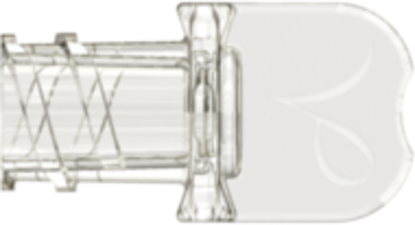 Neuraxial Female Vented Cap fits Neuraxial Male Connector Clear Acrylic