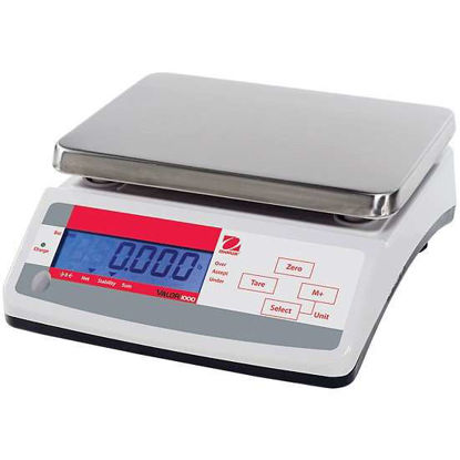 Ohaus V11P6T Valor 1000 Compact Industrial Scale, 6 kg X 1 g