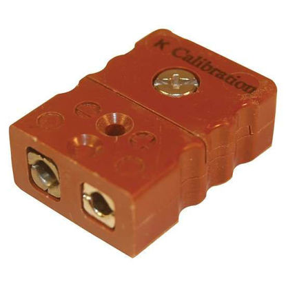 Digi-Sense Standard Type-K Thermocouple Female Connector, 2 Pin