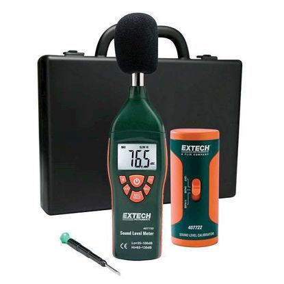 Extech 407732 Type 2 Digital Sound Level Meter Kit