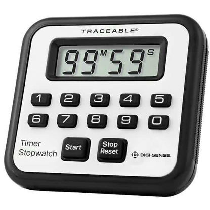 Digi-Sense Traceable® Alarm Timer/Stopwatch with Calibration
