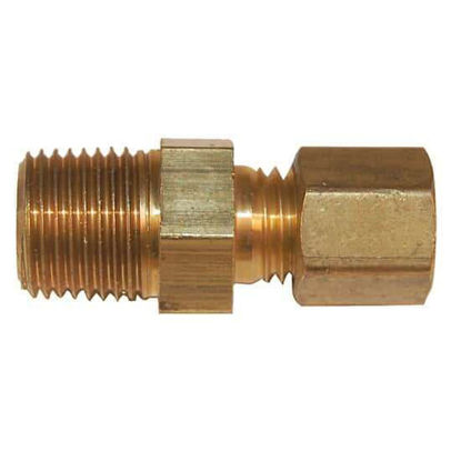 "Digi-Sense Compression Fitting; Probe Diameter 1/8""; Brass; 1/8""NPT (M)"