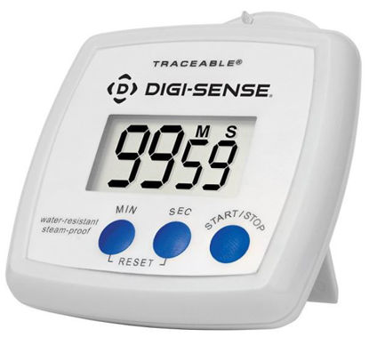 Digi-Sense Traceable® Waterproof/Steamproof Timer with Calibration